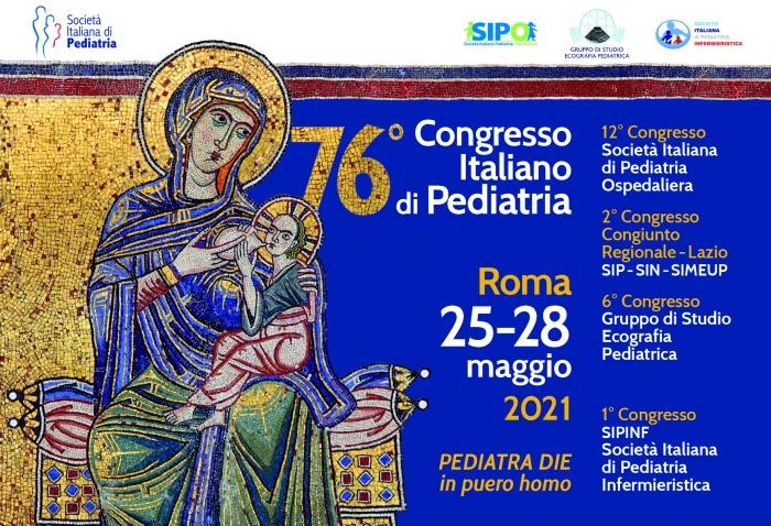 76° CONGRESSO ITALIANO DI PEDIATRIA - PEDIATRA DIE in puero homo - 25/05 FAD SINCRONA - 25 MAGGIO 2021 GIORNATA DEDICATA AL PEDIATRA DIE