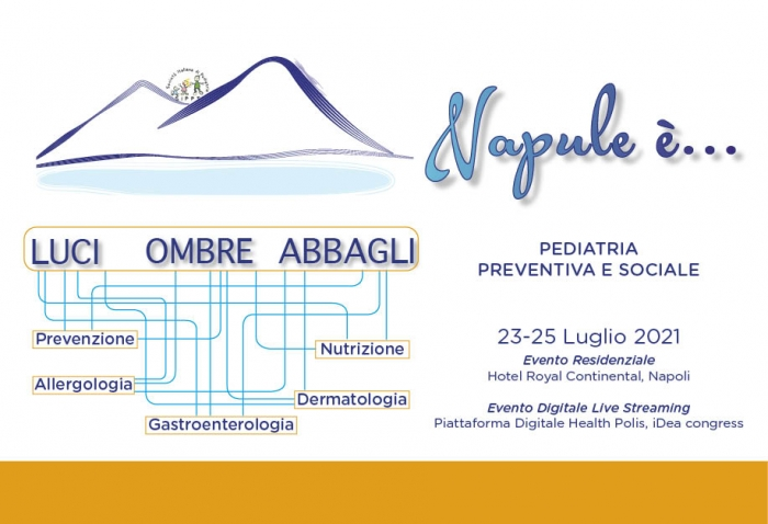 Napul'è... Pediatria Preventiva e Sociale - EVENTO LIVE STREAMING