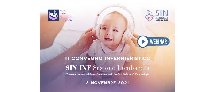 III Convegno Infermieristico SIN INF Lombardia