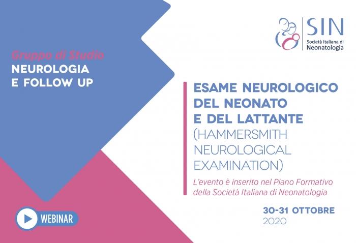 ESAME NEUROLOGICO DEL NEONATO E DEL LATTANTE (HAMMERSMITH NEUROLOGICAL EXAMINATION)