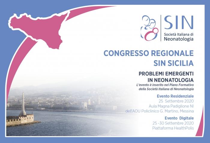 Congresso regionale SIN SICILIA - PROBLEMI EMERGENTI IN NEONATOLOGIA