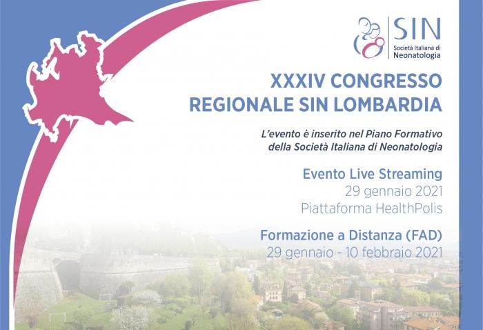 XXXIV CONGRESSO REGIONALE SIN Lombardia
