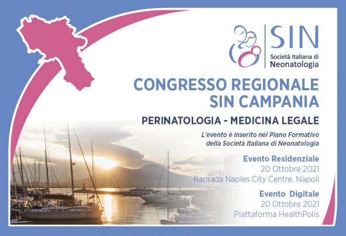 CONGRESSO REGIONALE SIN CAMPANIA - PERINATOLOGIA - MEDICINA LEGALE