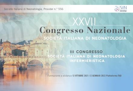 III CONGRESSO SOCIETÀ ITALIANA DI NEONATOLOGIA INFERMIERISTICA - FAD ASINCRONA