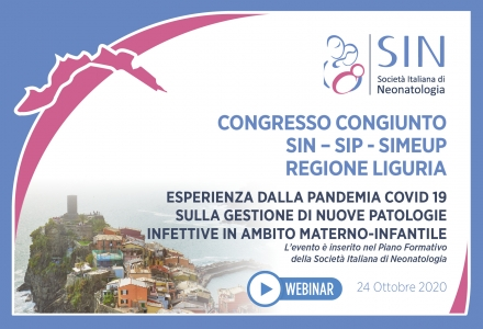 Congresso congiunto SIN - SIP - SIMEUP Regione Liguria - Esperienza dalla Pandemia COVID 19 sulla gestione di nuove patologie infettive in ambito materno-infantile
