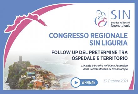 CONGRESSO REGIONALE  SIN LIGURIA - FOLLOW UP DEL PRETERMINE TRA OSPEDALE E TERRITORIO