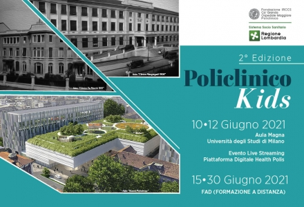 POLICLINICO KIDS - 2° Edizione - EVENTO LIVE STREAMING