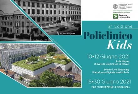 POLICLINICO KIDS - 2° Edizione - FORMAZIONE A DISTANZA (FAD)