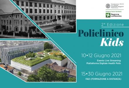 POLICLINICO KIDS - 2° Edizione - EVENTO LIVE STREAMING