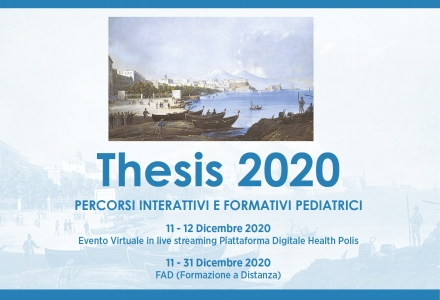 THESIS 2020 - Percorsi interattivi e formativi pediatrici